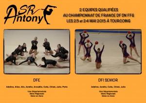 Qualifiées France DF DN 2015