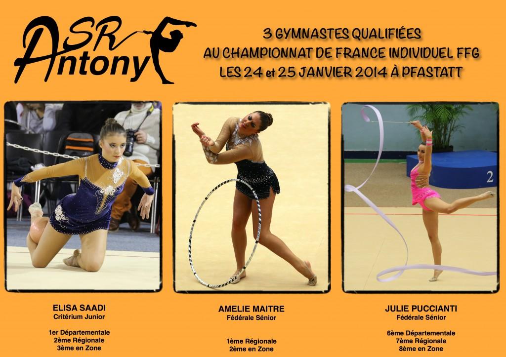 Qualifiées Frances FFG Indivs 2015