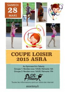 Affiche Coupe Loisir 2015